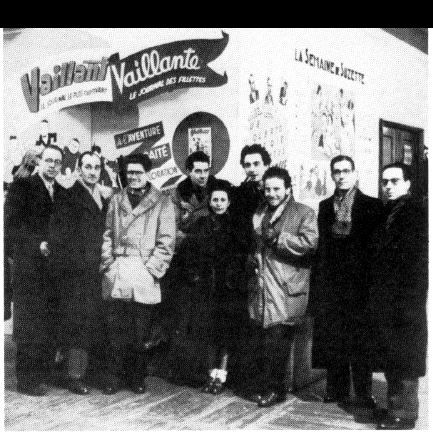 Redacția Vaillant în 1946