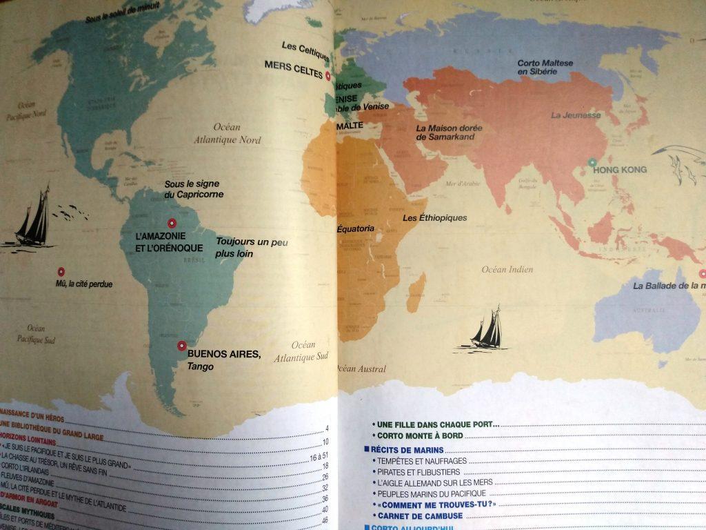 Harta aventurilor lui Corto Maltese