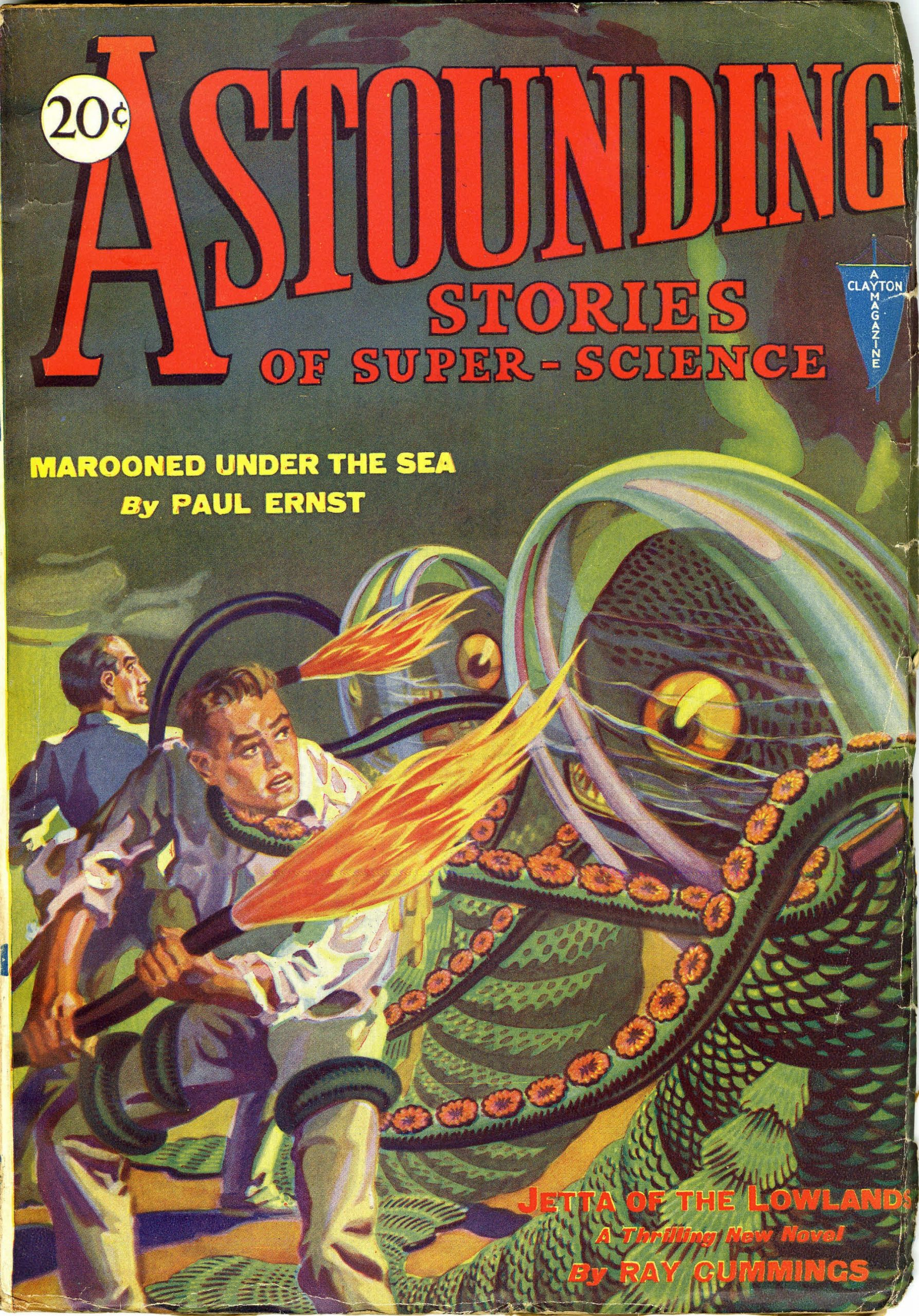 Astounding, Stories of Super-Science
