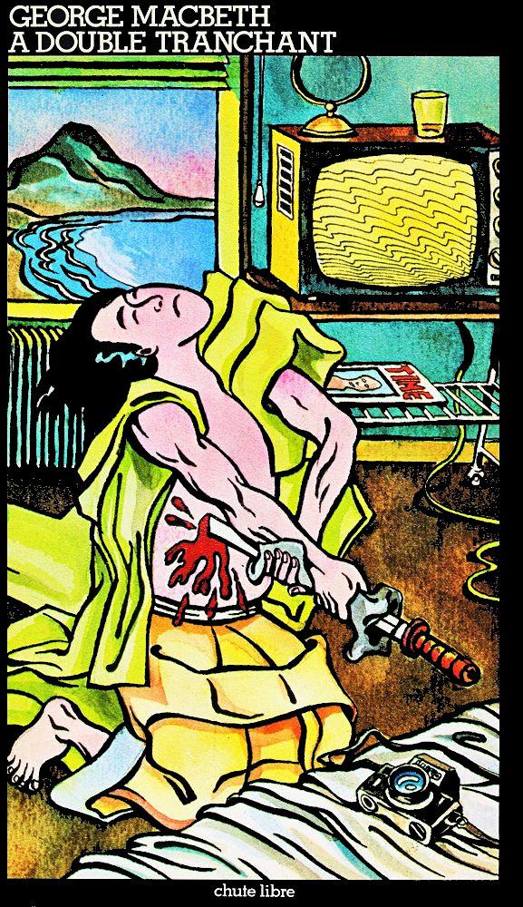A double tranchant - George MacBETH - Illustration (non mentionné) octobre 1977