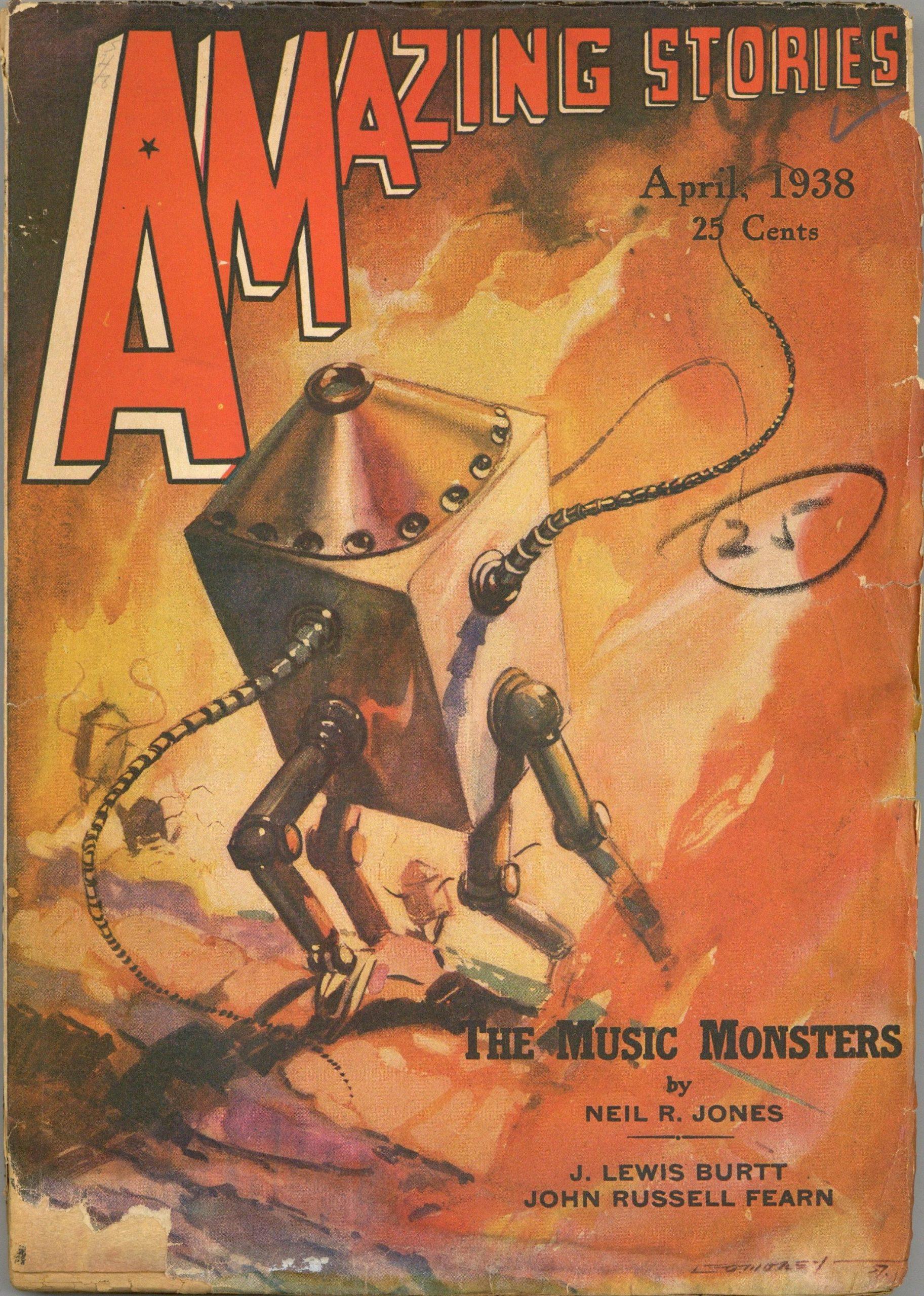 Amazing Stories - April, 1938