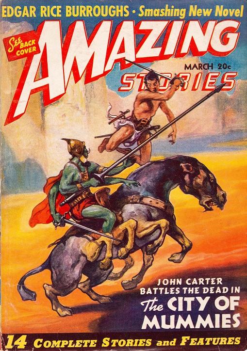 Amazing Stories March 1941