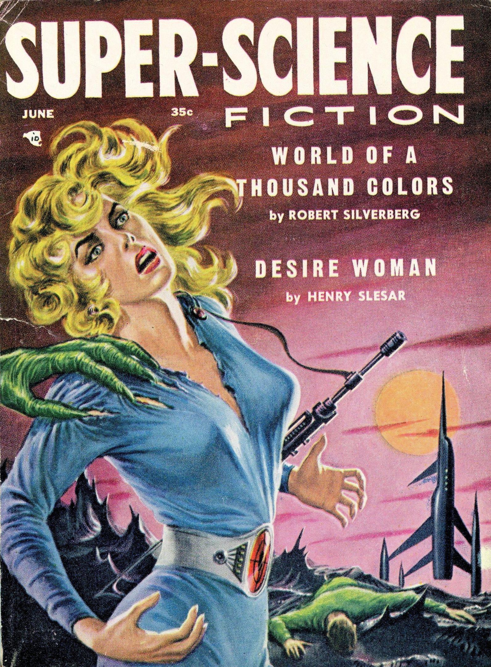Super Science Fiction June 1957