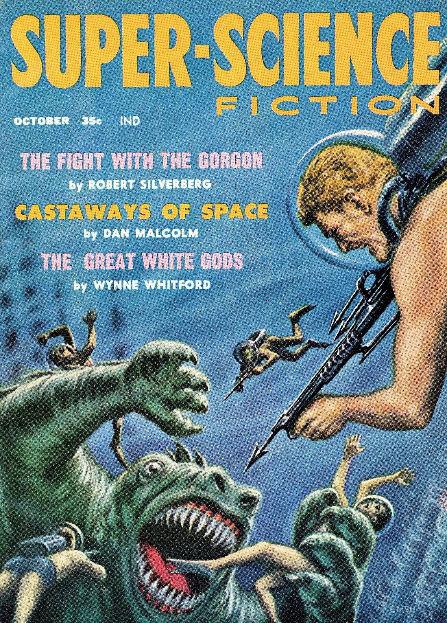 Super Science Fiction October 1958