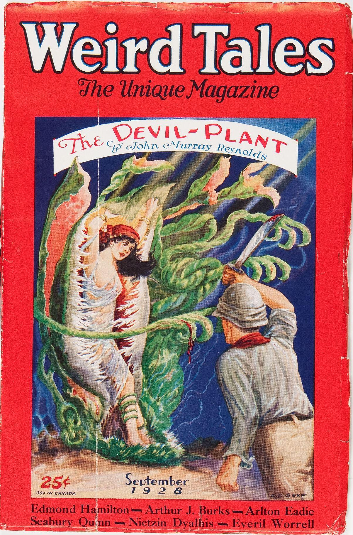 Weird Tales - September, 19281