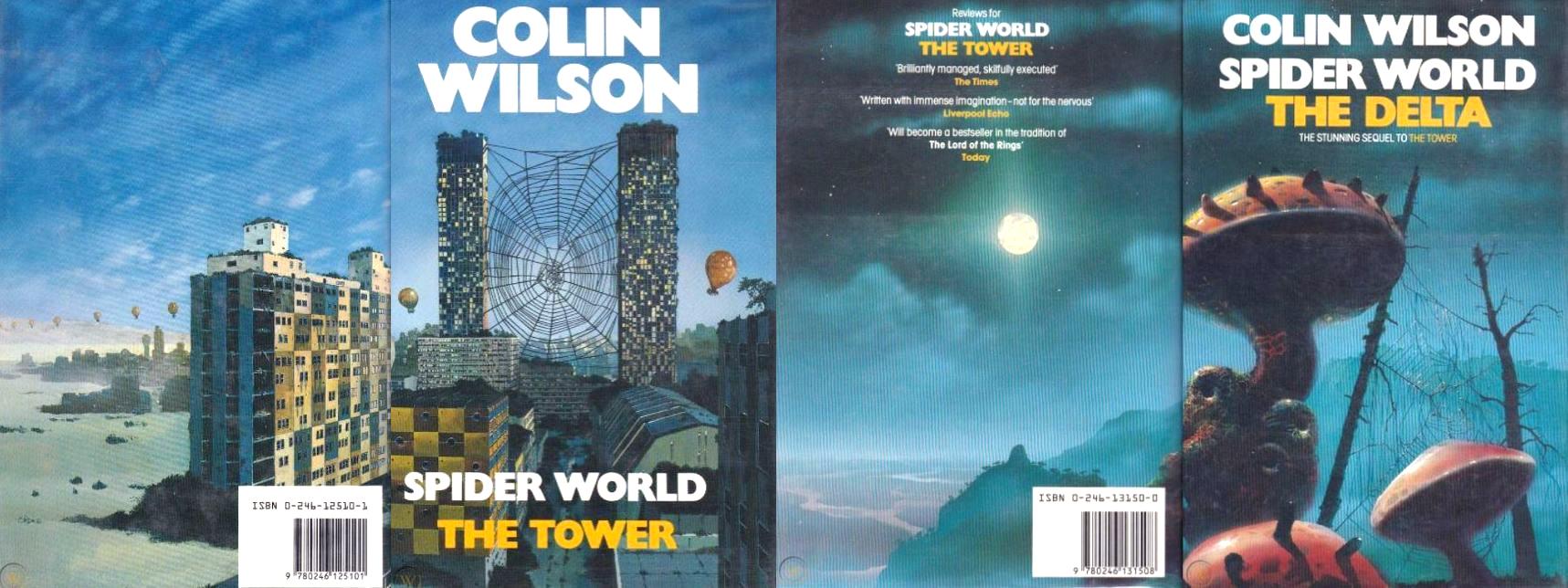 Ciclul Spider World de Colin Wilson