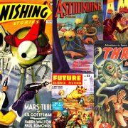 Alienșii atacă! - coperți din epoca de aur a revistelor pulp