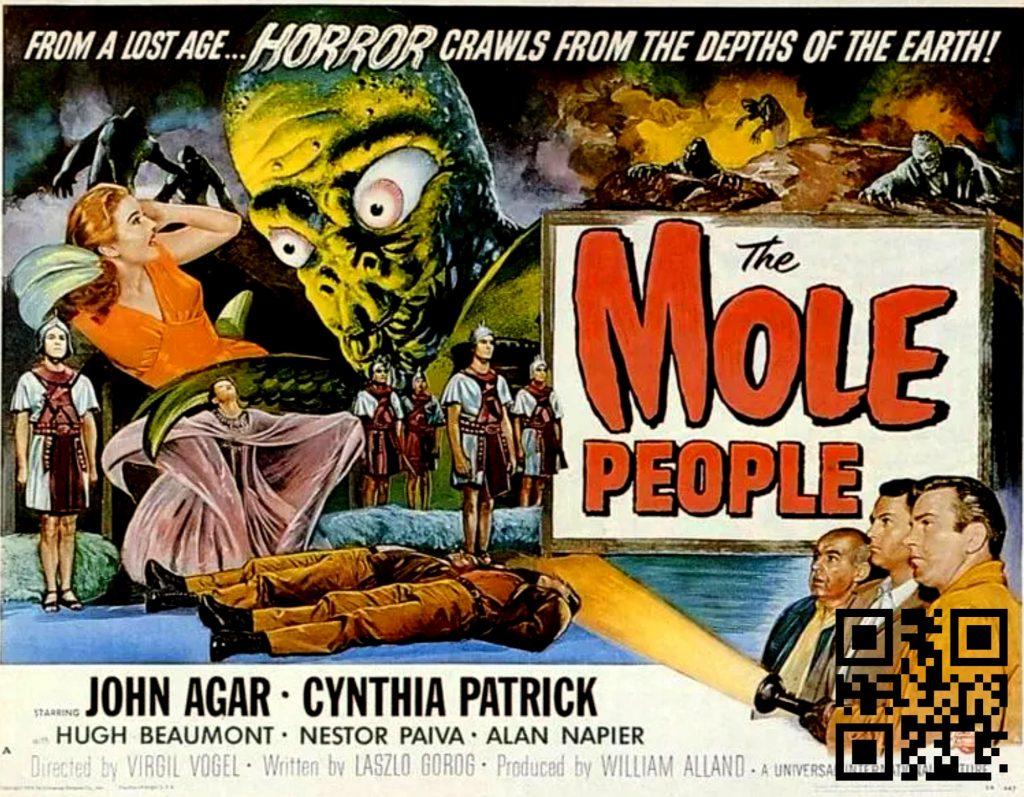 1956 The Mole People afis de Reynold Brown