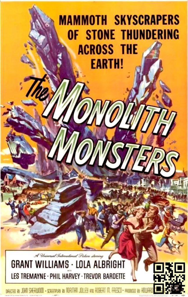 1957 The Monolith Monsters afis de Reynold Brown