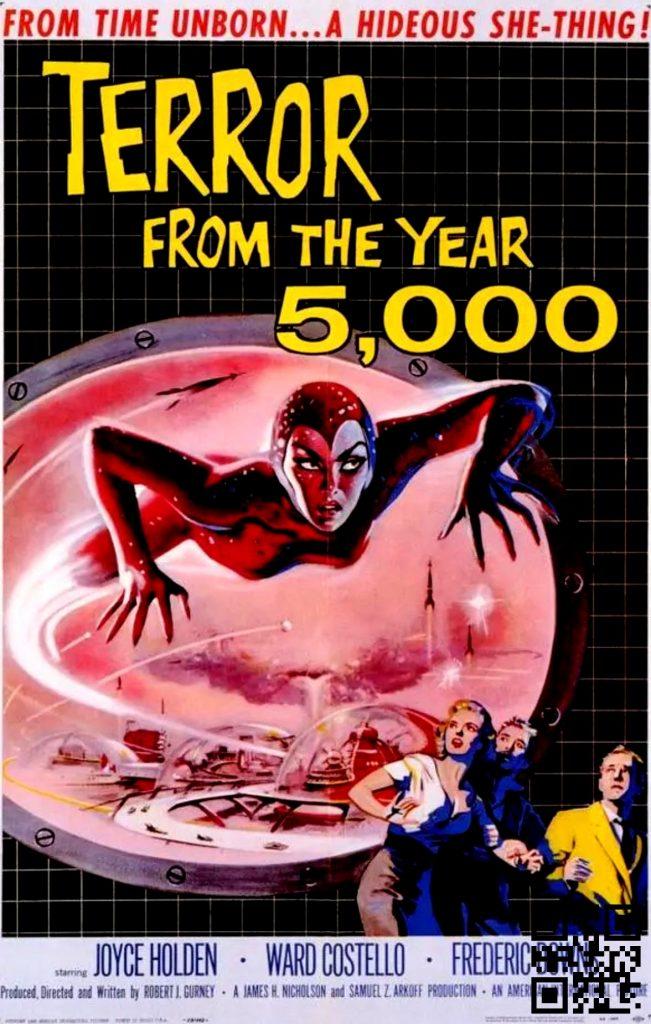 1958 Terror from the Year 5000 afis de Albert Kallis