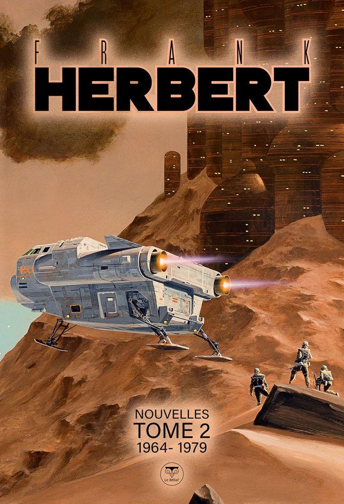05 Frank HERBERT Nouvelles Tome 2 - 1964-1979, coll. Kvasar (recueil de nouvelles, première édition)