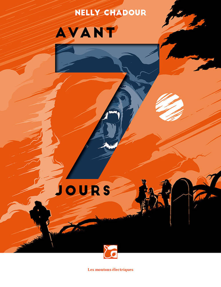 09 Nelly CHADOUR Avant 7 jours, coll. La Bibliothèque voltaïque (roman, première édition)
