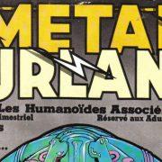 legendara revistă de benzi desenate Métal Hurlant